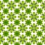Green leaf flower pattern background — Stock Photo #13435297