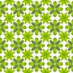 Green leaf flower pattern background — Stock Photo #13435606