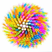 Colorful straw — Stock Photo