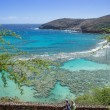 Hanauma bay, Oahu, Hawaii — Stock Photo