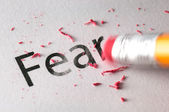 Erasing Fear — Stock Photo