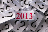 What will happen in 2013 — Foto Stock