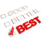 Good Better Best — Stock Photo #23591935
