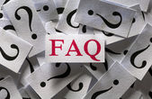 Frequently asked questions (FAQ) — Stock Photo