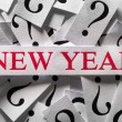 What will happen in New Year — Stock Photo