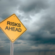 Risks Ahead — Stock Photo #30068905