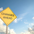 Changes Ahead — Stock Photo