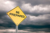 Be Prepared — Stock Photo