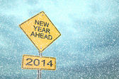 New Year Ahead 2014 — Foto Stock