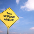 Tax Refund Ahead — Stock Photo #31240359