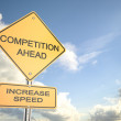 Competition Ahead — Foto de Stock