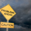 Problems Ahead — Stock Photo