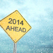 Stock Photo: 2014 Ahead