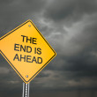 The End is Near — Stock Photo