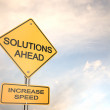 Solutions Ahead — Stock Photo