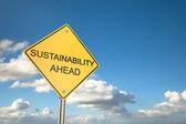 Sustainability Ahead — Stockfoto