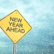 New Year Ahead — Stock Photo