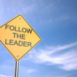 Stock Photo: Follow Leader