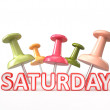 Stock Photo: Busy Saturday