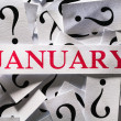 Stock Photo: January