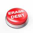Erase Debt — Stock Photo #38365615
