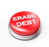 Erase Debt — Stock Photo