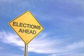 Elections Ahead — Stock Photo
