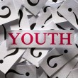 Questions about the Youth — Stock Photo