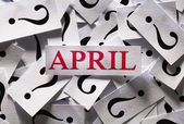 Abril — Foto de Stock