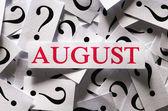 August — Stock Photo