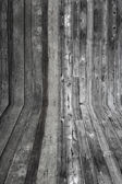 Wall and floor wood texture — Stock Photo