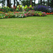 Stock Photo: Landscaped Formal Garden Park