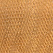 Dried rubber sheet background pattern texture — Stock Photo
