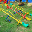 Stock Photo: Play equipment in the park