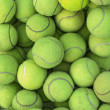 Stock Photo: Tennis balls background texture