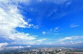 Blue sky on Chiang mai city, Thailand — Stock Photo
