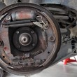 Change brake drum — Stockfoto
