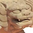 Chinese lion statue — Stock Photo