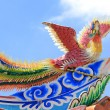 Phoenix statue Chinese style — Stock Photo
