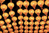 Lantern Festival or Yee Peng Festival in Chiangmai Thailand. — Stock Photo