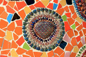 Colorful Mosaic thai style — Stock Photo