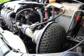 Air filter in car — Stock Photo