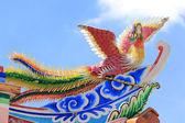 Estilo chinês de estátua de Phoenix — Fotografia Stock