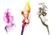 Smoke colorful — Stock Photo