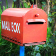 Mail Box in the nature — Stock Photo