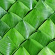 Dessert Banana leaf  wrap — Stock Photo