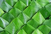 Dessert Banana leaf wrap — Stock Photo