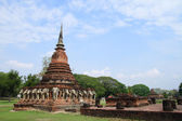 Wat Chang Lom in sukhothai unesco — Stock Photo