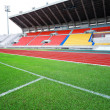 Stock Photo: Run race track in sport stadium