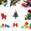 Stock Photo: Decorated for Christmas happy new year holiday